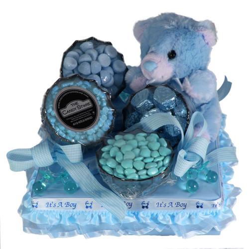 Hug-a-bear Boy Centerpiece