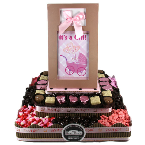 Large Two Tier Centerpiece- Girl