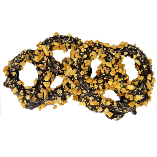 Sugar Free Chocolate Covered Pretzel with Nuts