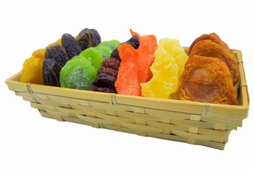 Fruit Laden Rosh Hashana Basket