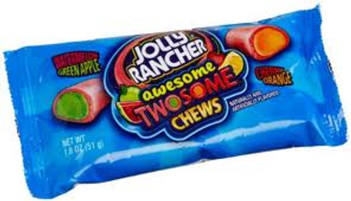 Jolly Rancher Awesome Twosome Chew- Package