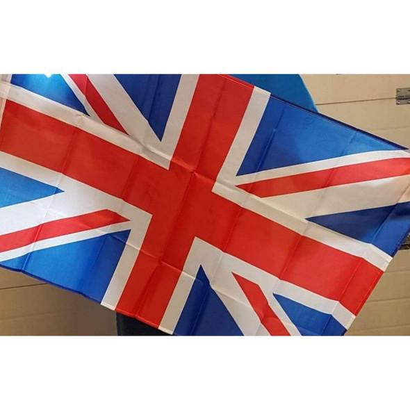 Union Jack Flag Large Size Flagpole 6ft x 9ft