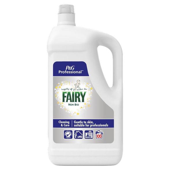 Fairy Non Bio 100 Wash Laundry Detergent 5 Litres