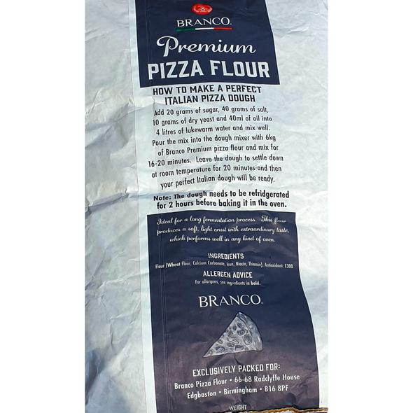 Branco Premium Pizza Flour 16KG