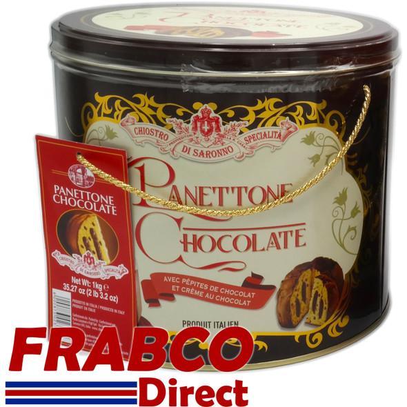 Authentic Italian 1KG Panettone in Tin