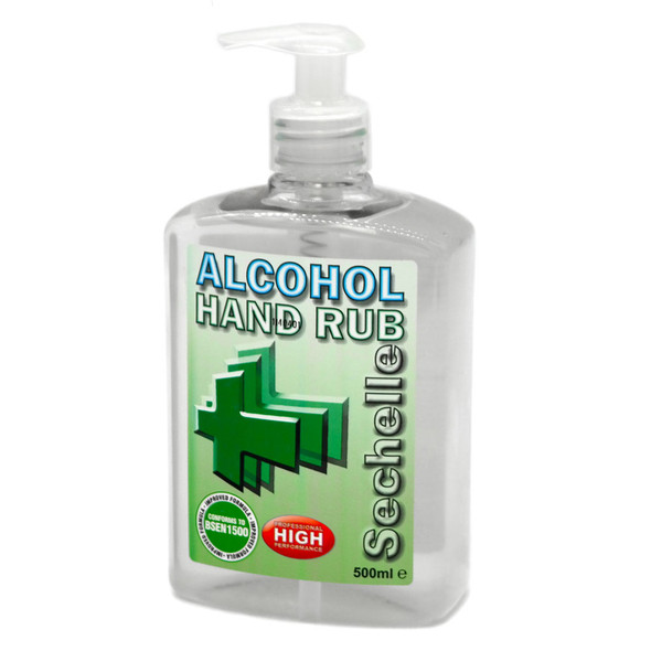 500ml Large Bottle Alcohol Hand Sanitiser Professional Formula