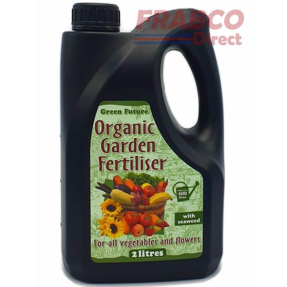 Green Future Organic Garden Fertiliser 2 Litre