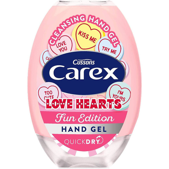 Carex Fun Editions Antibacterial Hand Gel 50ml