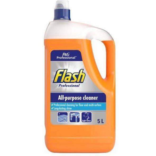 Flash All Purpose Light Citrus Fresh Liquid 5 Litres