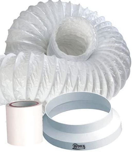 HDIUK 3m portable Air Conditioner venting duct hose extension kit