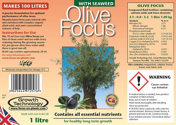 Olive Focus Olive Fertilizer 1 Litre