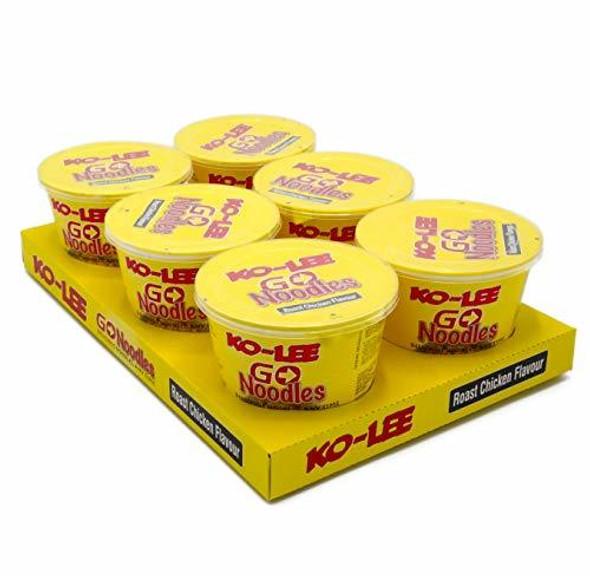 Ko-Lee Go Noodles 65g Snack Pot Pack of 6