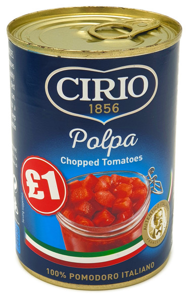 Palpa Italian Chopped Tomatoes 400g Can