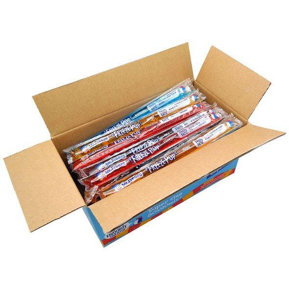 Mr. Freeze Super Size Freezepops 4 Flavours
