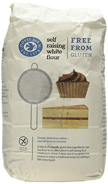 Doves Farm White Self Raising Flour Gluten Free 1Kg