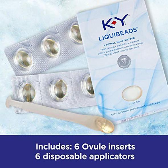 K-Y Liquibeads Vaginal Moisturizer 6