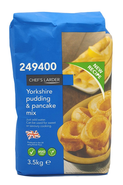 Chef's Larder Yorkshire Pudding & Pancake Mix 3.5kg