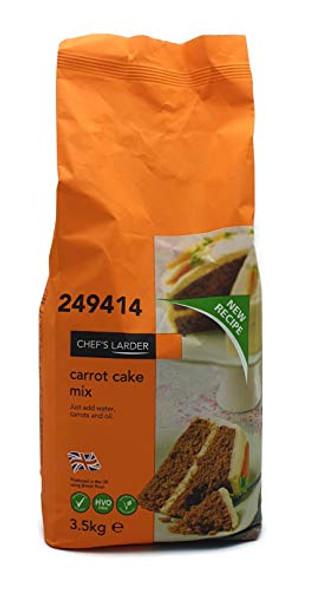 Chef's Larder Carrot Cake Mix 3.5Kg