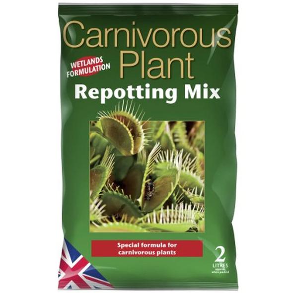 Carnivorous Focus Repotting Mix 2 Litre