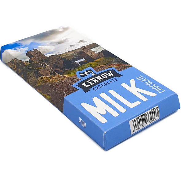 Kernow Cornish Milk Chocolate Bar
