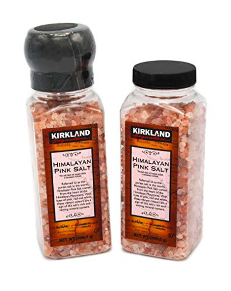 Himalayan Pink Rock Salt Grinder with Refill 737g