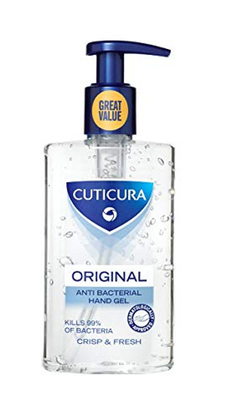Cuticura Original Crisp & Fresh Anti Bacterial Hand Gel, 250ml