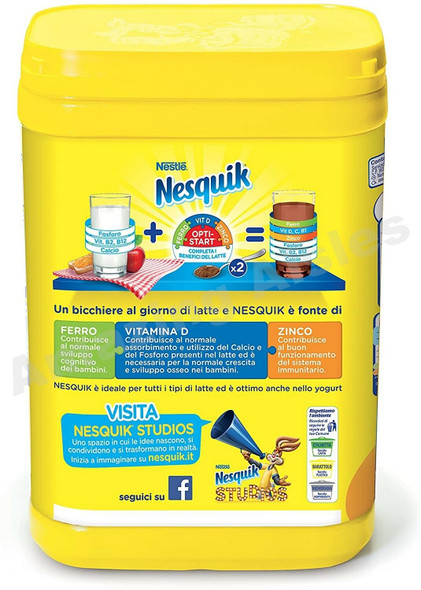 Nesquik Chocolate Flavour Mix for Milk 1KG