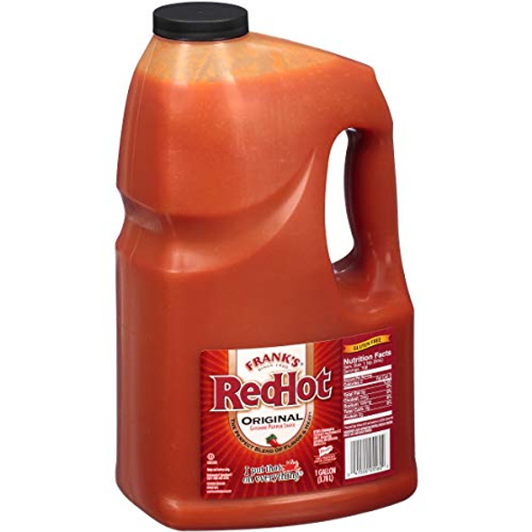 Frank's RedHot Original Cayenne Pepper Sauce 3.78 Litre Bottle