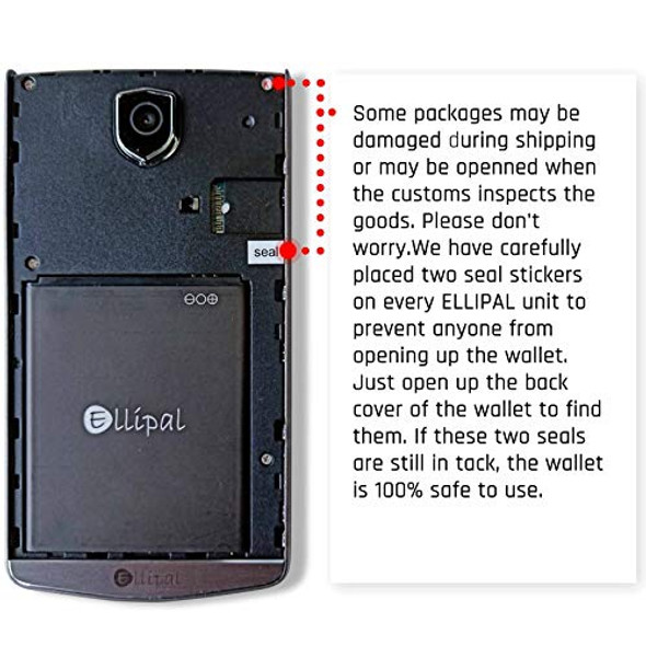 Ellipal Air-Gapped High Security Cryptocurrency Hardware Wallet