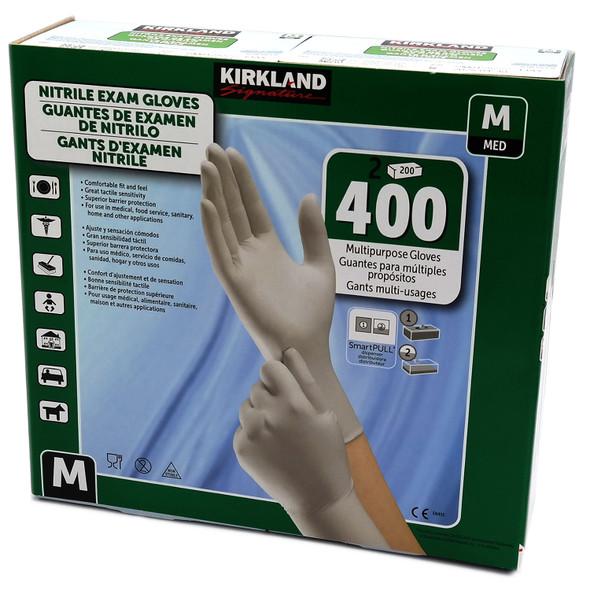 Nitrile Exam Gloves, Size Med. 200-Count (2-Pack)