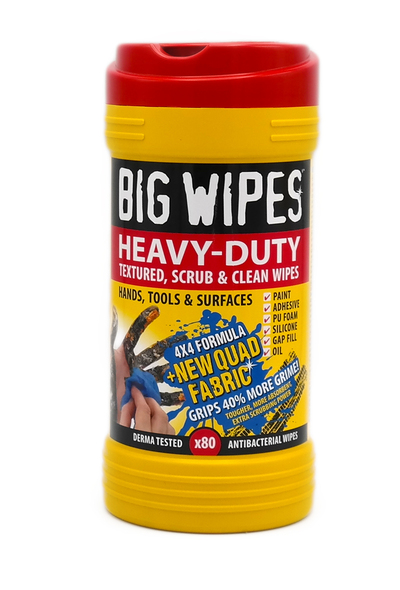 Big Wipes Heavy Duty For Hands Tools and Surfaces 80