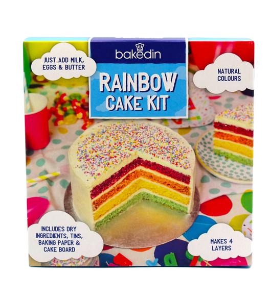 Bakedin Rainbow Cake Mix 970g