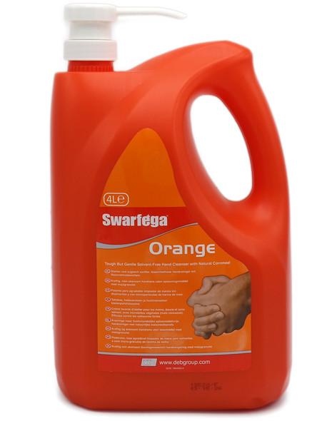 Swarfega Orange Heavy Duty Hand Cleaner - 4 Litres