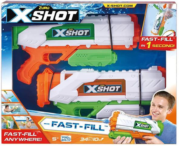 ZURU X shot water fast fill water blaster 2 pack