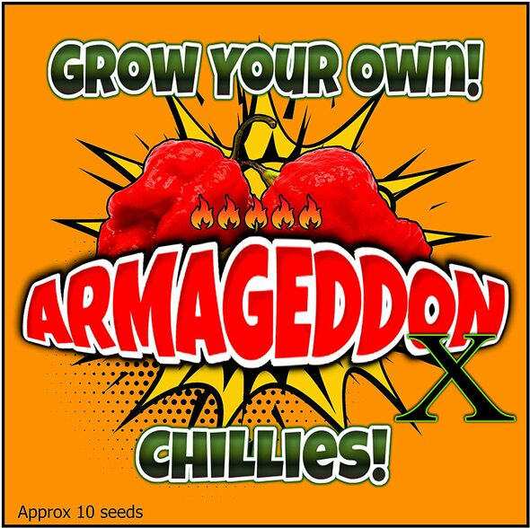 Ultra Hot Peppers (Armageddon X) Chilli Pepper Seeds (10)