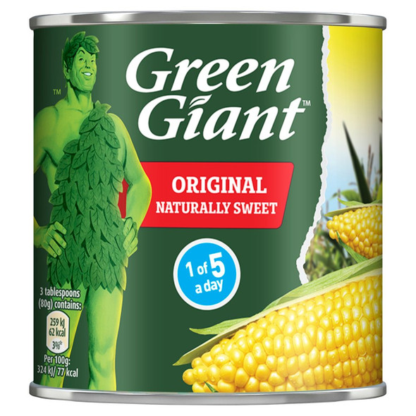 Green Giant Original,  Sweet Corn Niblets 340g