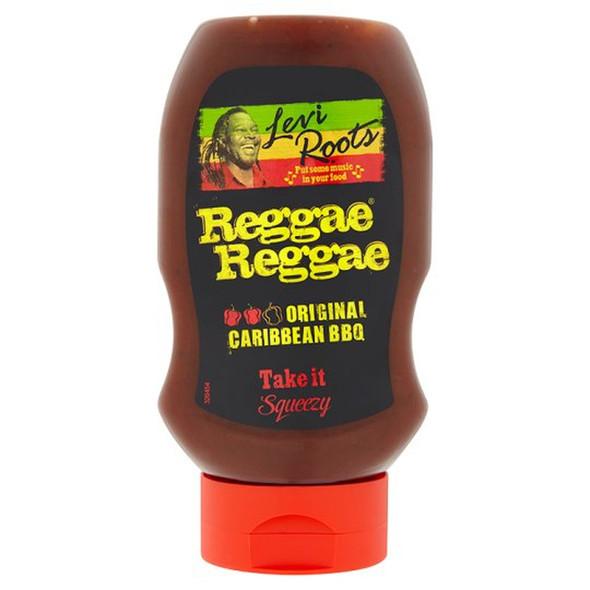 Levi Roots Jerk Bbq Reggae Reggae Sauce 490g