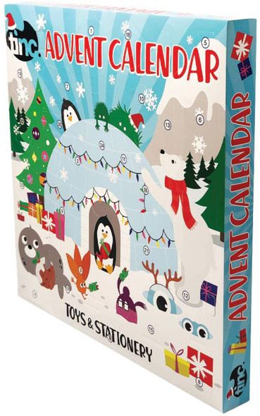 Tinc Junior Advent Calendar 24 Exclusive Toys & Stationery Gifts