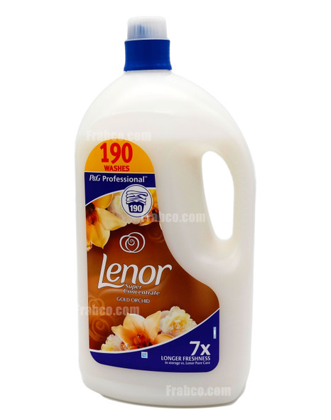 Lenor Super Concentrate Gold Orchid Fabric Conditioner 190 Wash