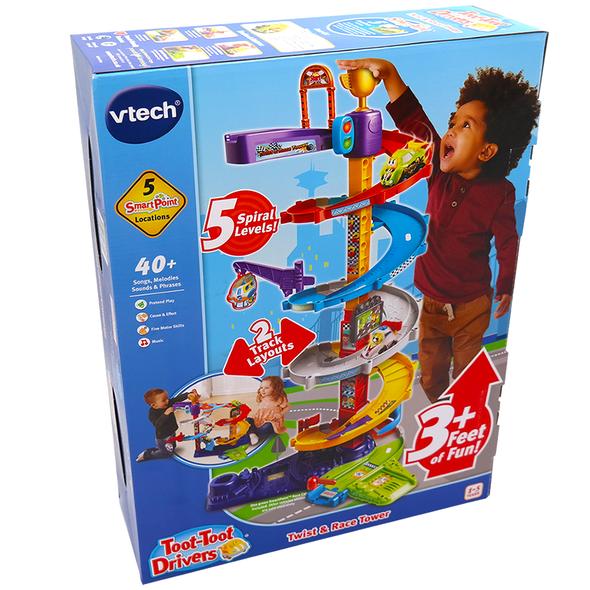 VTech Toot-Toot Drivers Twist & Race Tower