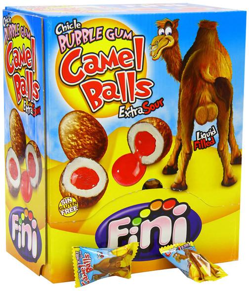 Fini Bubble Gum Camel Balls Extra Sour 200 Pieces