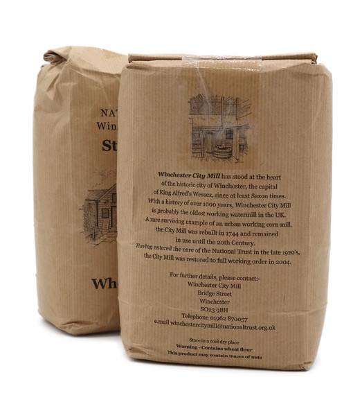 National Trust Winchester City Mill Stoneground Wholemeal Flour 1.5KG