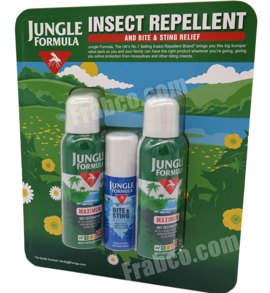 Jungle Formula Travel Combi-Pack Insect Repellent