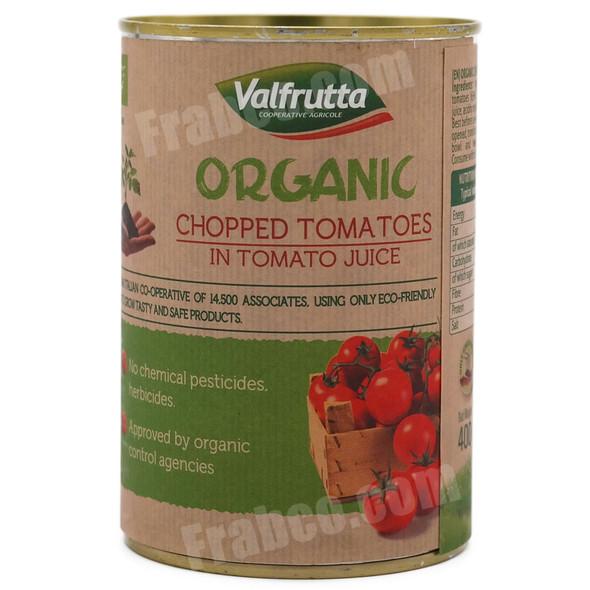 Organic Chopped Italian Tomatoes in Tomato Juice 400g