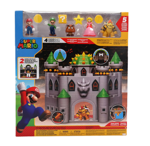 Super Mario Deluxe Castle Playset