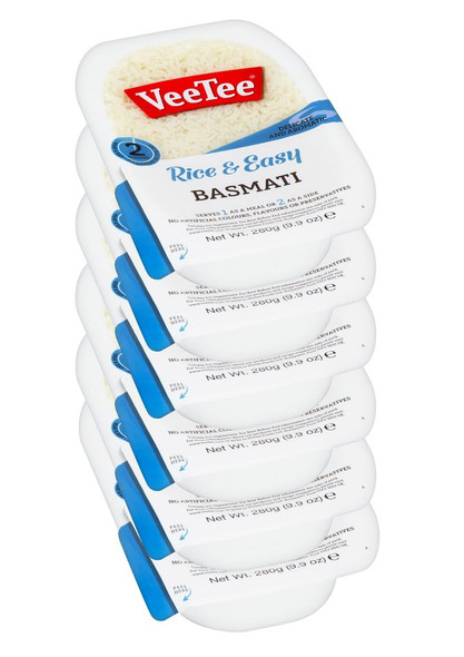 Rice & Easy Basmati Microwave Rice 6 Pack
