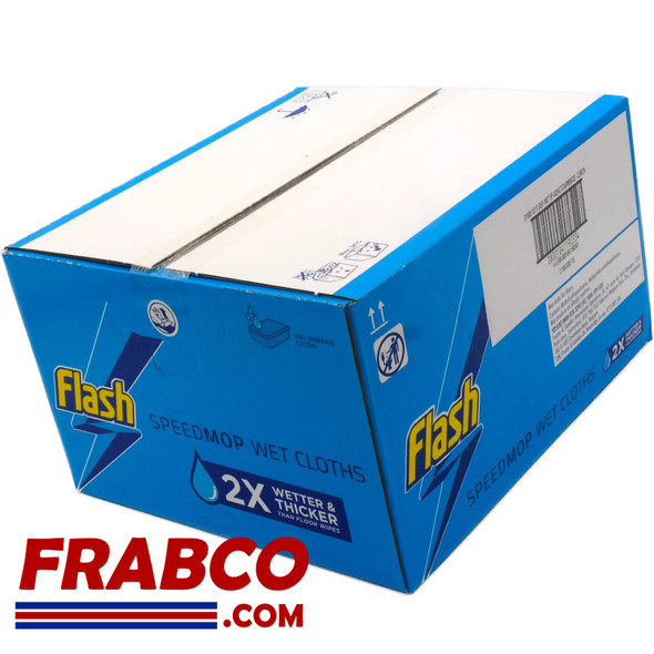 Flash Speedmop Wet Cloth. 96 Refills 4 x 24 Outer Box
