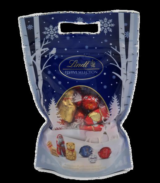 Lindt Festive Milk Chocolate Selection Bag