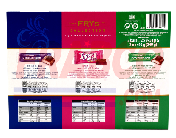 Fry's Collection Chocolate Selection Pack 249G