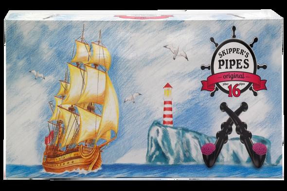 Skippers Original Liquorice Pipes 16 Pack